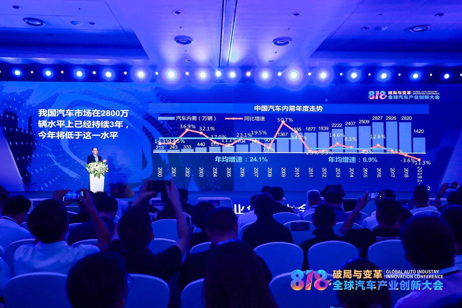 徐长明:今年车市销量低于2800万辆 因需求动力不足