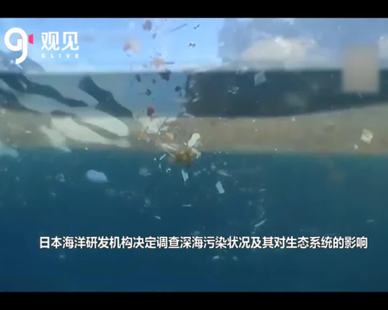 海洋污染问题严峻,日本海洋机构首次展开深海污染相关调查