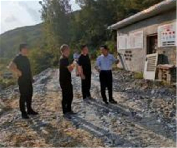 河南省应急管理厅赴南召县调研非煤矿山度汛安全工作
