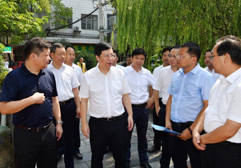 胡衡华调研沩水河流域综合治理工作