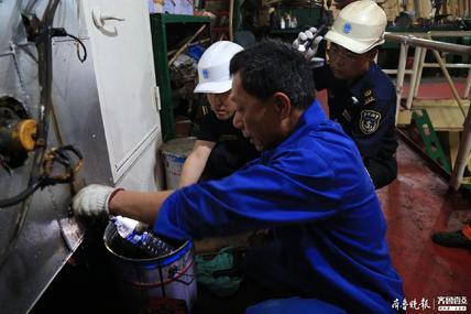 轮船排污严重超标罚被罚3.3万!青岛首开船舶大气污染罚单