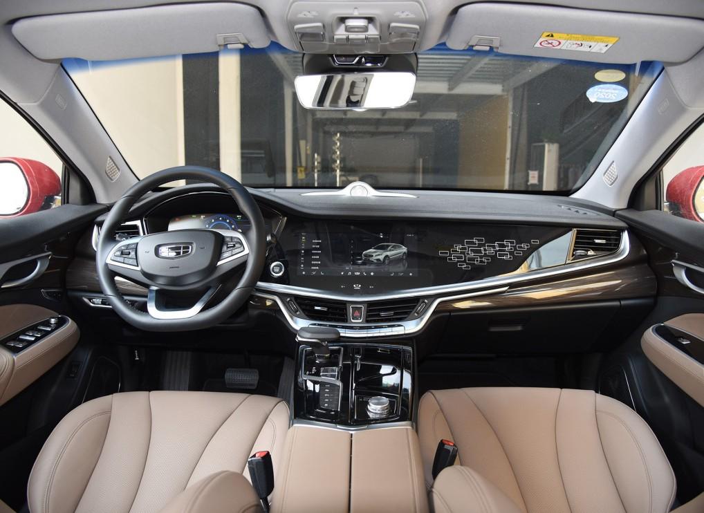 吉利博瑞GE,国产品牌中型车销量冠军,被誉为最美自主中型车