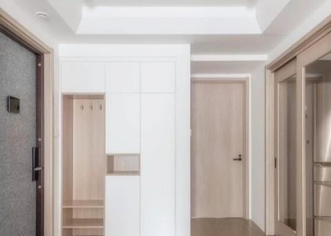 两居室打造无印良品风,舒适惬意,各个空间都好看实用