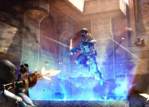 《穿越火线》真实场景加入地图,换弹姿势细节,枪口还会发红!