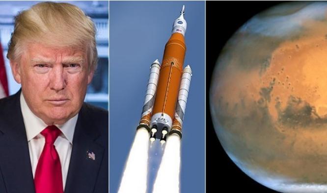 特朗普为什么不登月,反而要直接上火星?美国有这样的能力吗?
