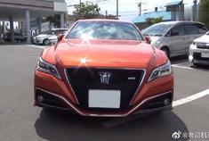 视频:这款丰田皇冠,改变了传统外表,更具现代化的红色车头帅啊