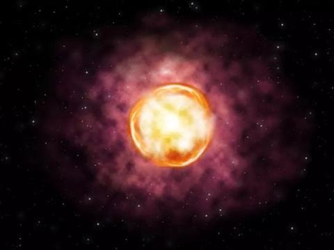 """天文学家发现一颗被""""反物质""""彻底摧毁的恒星"""