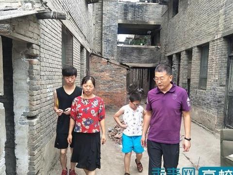 长安大学地测学院开展建档立卡学生家访工作