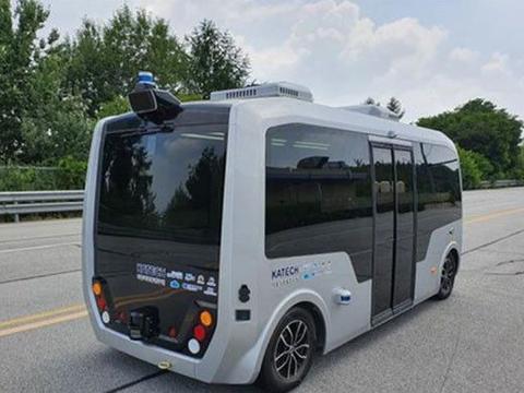 没有方向盘!韩国大邱市试运行三辆自动驾驶电动巴士
