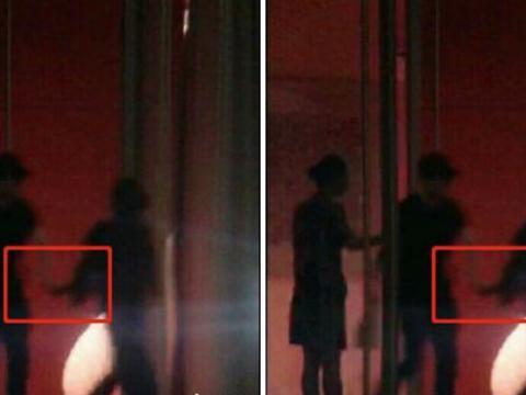 冯绍峰牵着辣妈赵丽颖走出机场,看到记者后,丽颖的反应十分少女