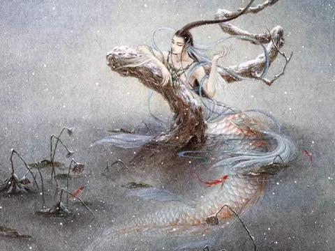 山海经中记载的16个上古神话人物,黄帝战蚩尤,祝融战共工