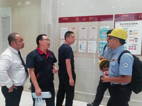 开辟电梯检验绿色通道  成都温江区保障汛期电梯安全出实招