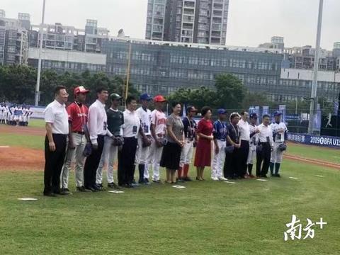 中国队5:2胜巴基斯坦!亚洲U15青少年棒球锦标赛深圳南山开赛