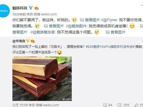 魅族申请新商标MEIZU UR 与花梨木有关还是新手机?