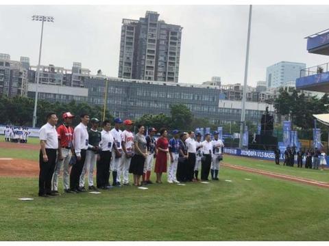 亚洲U15青少年棒球锦标赛深圳打响,中国队首战大胜巴基斯坦队
