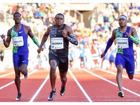 当今百米之王科尔曼:不做博尔特第二,目标奥运会金牌和世界纪录
