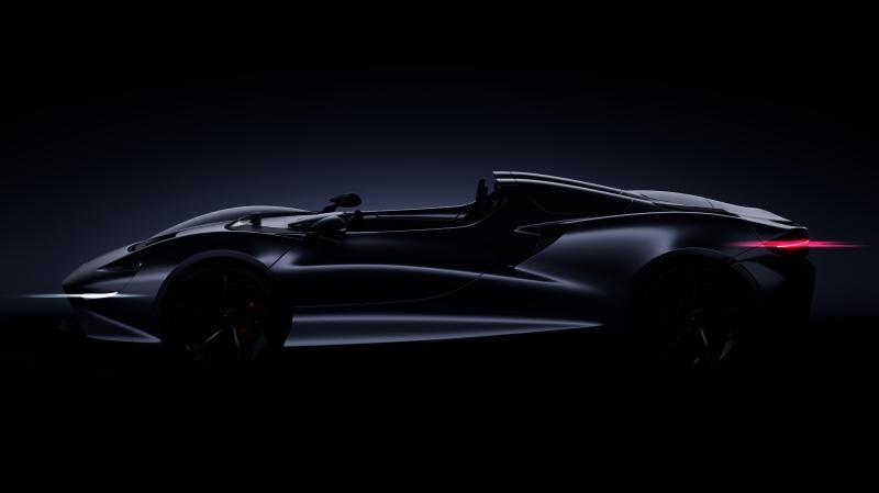迈凯伦将推出全新终极跑车 2020年上市限量399台