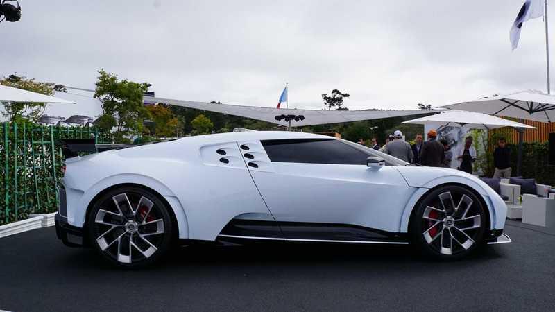 造型科幻 限量10台 布加迪全新超跑Centodieci亮相圆石滩