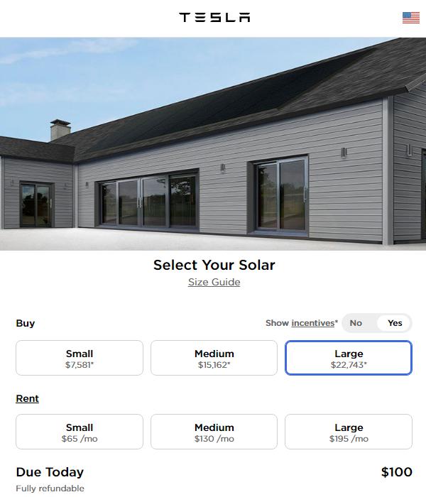 特斯拉重启家庭太阳能电池板安装业务 并推出新的租赁选项