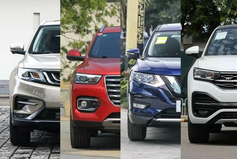SUV市场发生巨变?自主被合资集体赶超