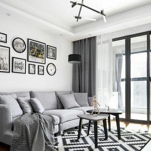 我家93平二居室,北欧装修风格,美翻了!-财富绿道丹庭装修