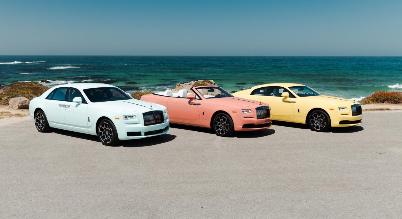限量推出13台/涂装特殊车漆 劳斯莱斯发布三款定制版车型