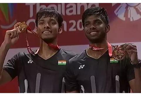 击败李俊慧刘雨辰的印度第一男双因伤退出世锦赛
