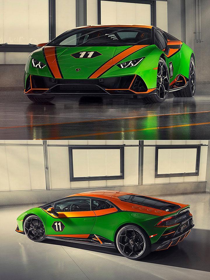 兰博基尼今年的两款新车,相比下,法拉利还是大爷
