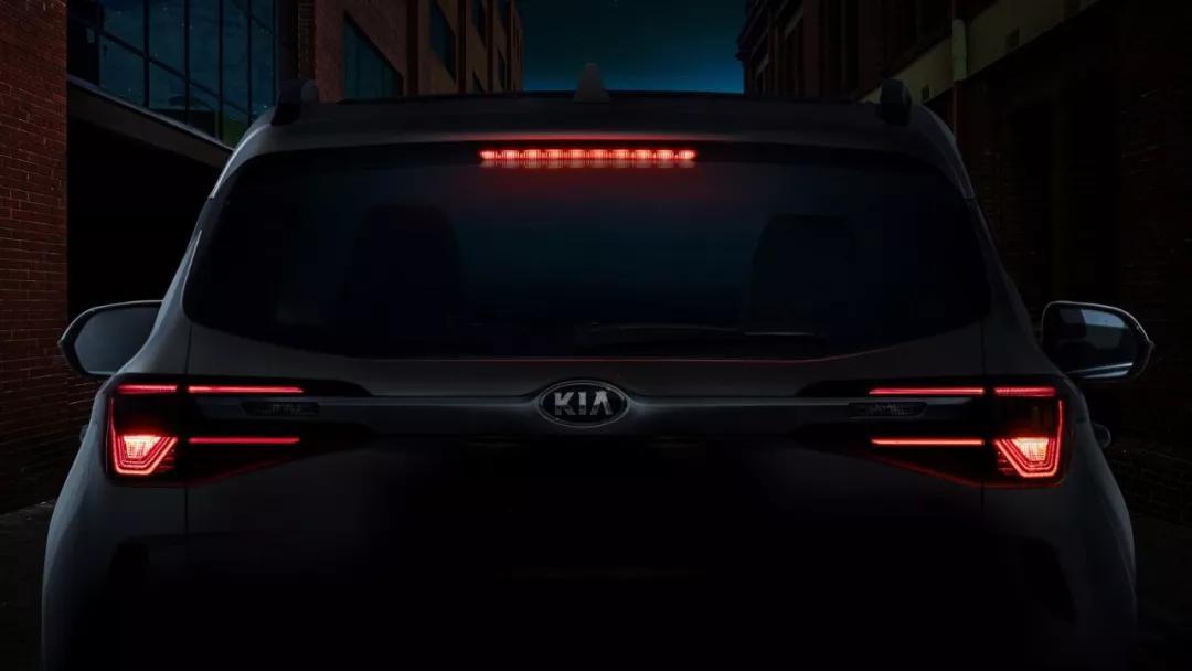 起亚全新SUV发布官图,现在先看一眼细节