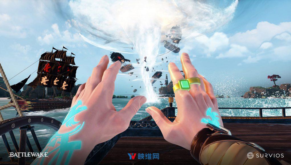PC VR游戏海盗船战争《Battlewake》将于9月发行,Quest版本已在制作中