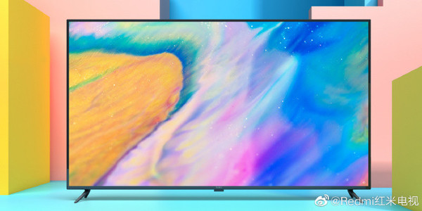 红米电视外观图放出 边框较窄/屏占比超高价格几何?