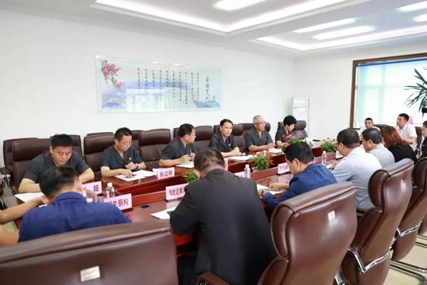 黑龙江海伦市人民法院集思广益 召开优化营商环境服务月专项活动座谈会