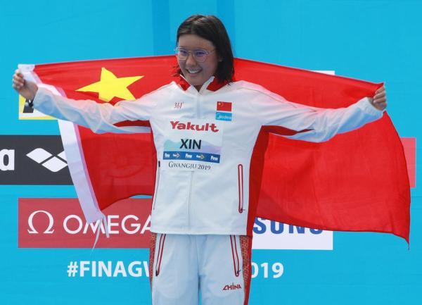 辛鑫冲击奥运公开水域金牌:只有像孙杨一样,才是真正的强大