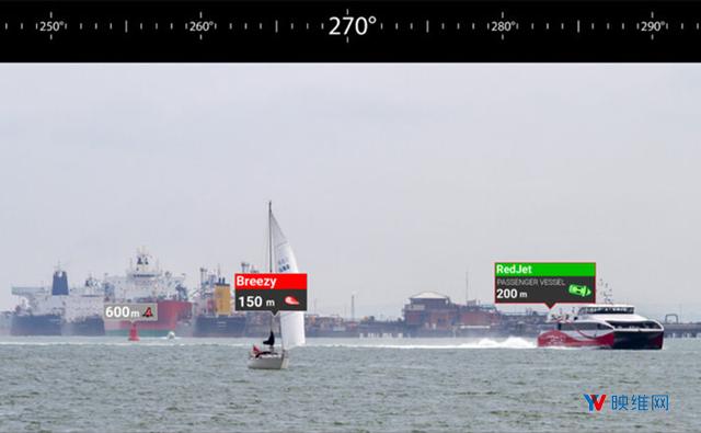 这家公司在用AR电子绘图系统变革海上航运导航