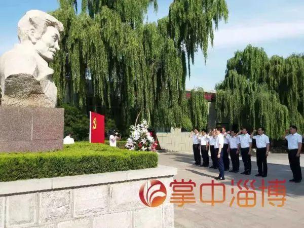 上任第3天 市委书记到焦裕禄塑像前宣誓(图)|纪念馆
