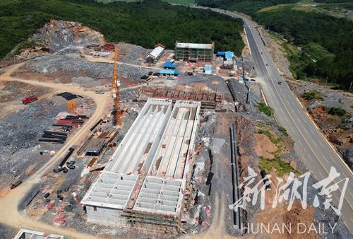 图片新闻|涔天河水厂主体工程基本建成 将解决30万瑶胞饮水问题