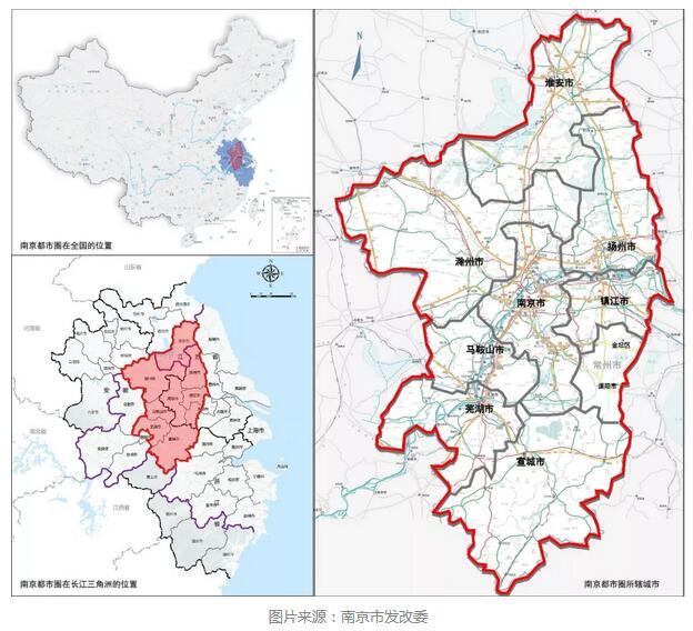 南京都市圈扩容:纳入半个常州 蚌埠也想左右逢源