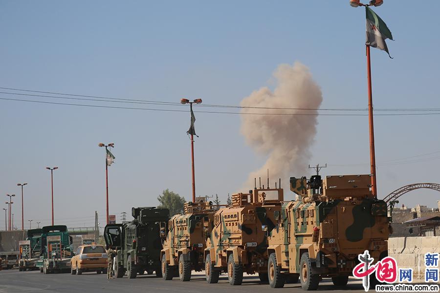 土耳其国防部:一军事护送队在叙遭袭 致3死12伤