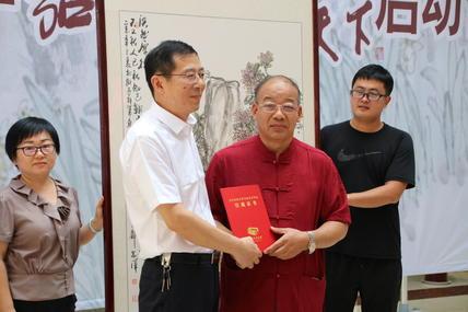 童西国画作品全国巡展启动仪式在菏泽市博物馆举行