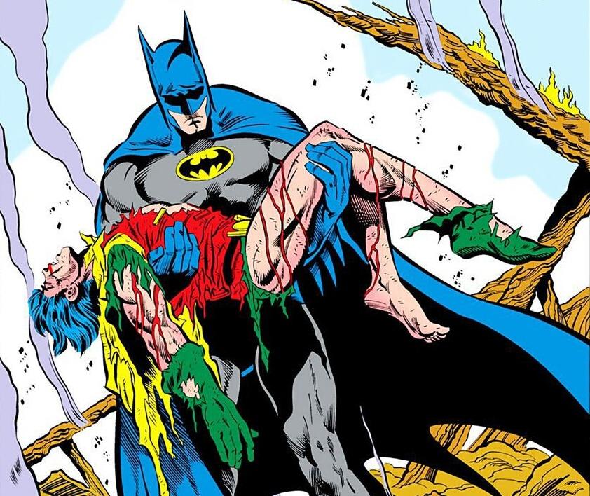 DC开发《蝙蝠侠》新动画 托德之死名场面将登银幕