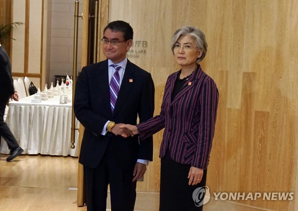 矛盾加剧后韩日外长举行会谈 分歧依旧但同意持续对话