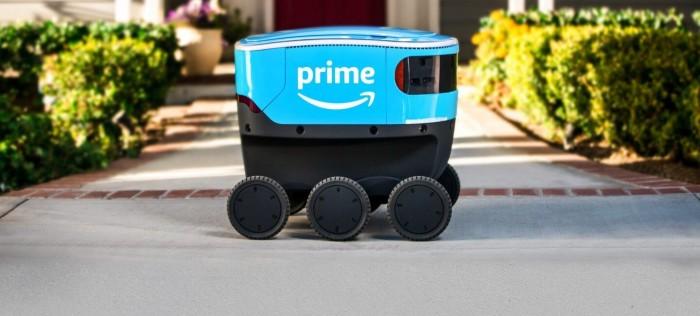 亚马逊开始在南加州测试Scout机器人送货服务