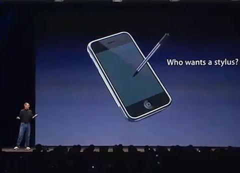 iPhone支持手写笔?细说库克打脸乔布斯那些事,苹果也不再高傲