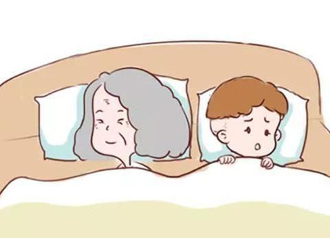 别让孩子和爷爷奶奶一起睡,不然有得你后悔
