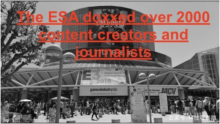 网站漏洞导致超过2000名参与报道E3的记者个人信息泄漏