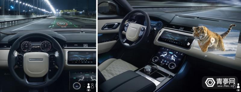 捷豹路虎将开发3D HUD,提高驾驶安全性与乘客体验