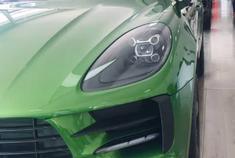视频:保时捷Macan,我太喜欢这个绿色了