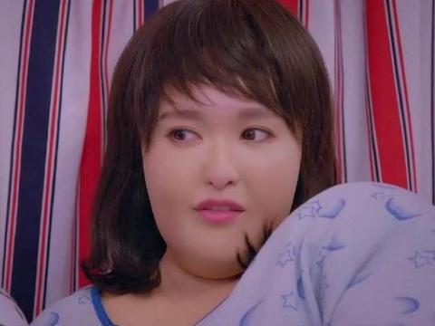 女星演胖子都是增肥吗?唐嫣娜扎都是靠道具,她却增肥到140斤