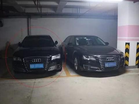 250万奥迪在车库偶遇自己的套牌车,网友:这是李鬼遇李逵了!