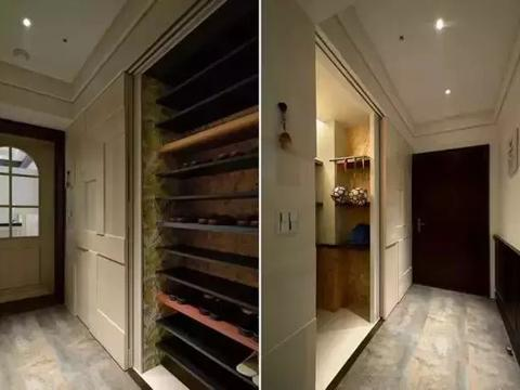 100平时尚混搭风,餐厅和厨房之间做个吧台台面,美观又实用!